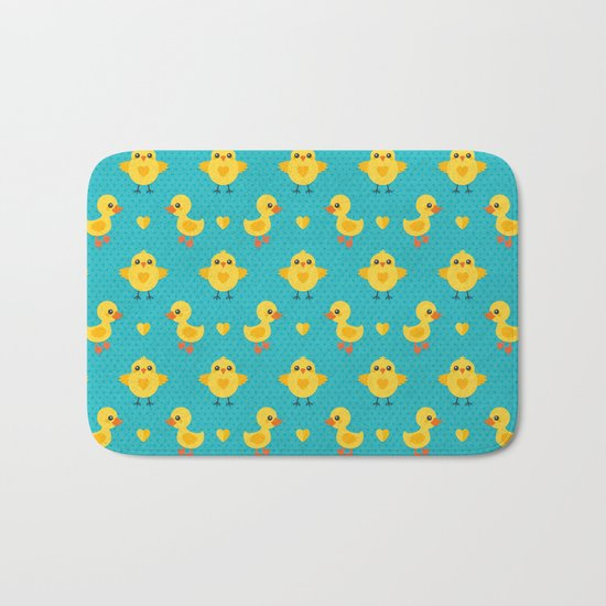 CHICKS AND DUCKLINGS Bath Mat