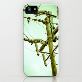 Electric Pole II iPhone Case