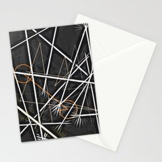 geometric interactions Stationery Cards