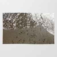 surf Area & Throw Rugs featuring Surf by aeolia
