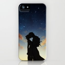 Long before our bodies met iPhone Case