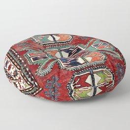 Karabagh Antique Azerbaijan South Caucasus Rug Print Floor Pillow