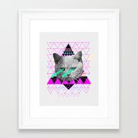 pastel Framed Art Prints featuring Pastel  by Kris Tate