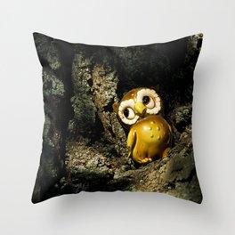 Harvey the Owl I Throw Pillow