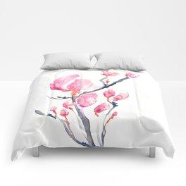 Japanese Magnolia Comforters
