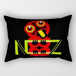 Hei Tiki New Zealand Rectangular Pillow