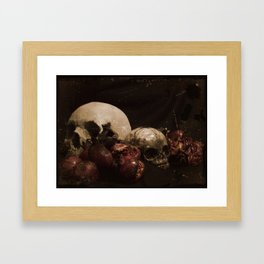 The Ripened Wisdom of the Dead Framed Art Print