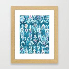 MERMAID FANTASEA Framed Art Print