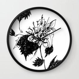 Acourtia nana Wall Clock