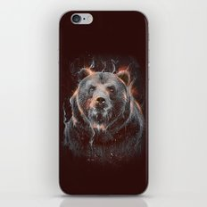 DARK BEAR iPhone & iPod Skin