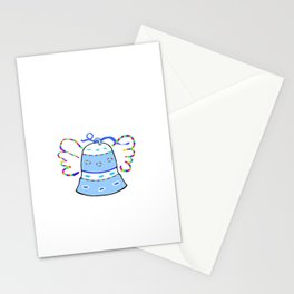 Blue Bell and Cloud Stationery Cards