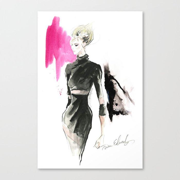 Fashion Model Leinwanddruck