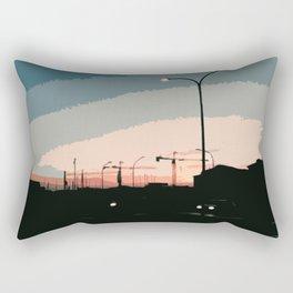 Sky Above Padova Rectangular Pillow