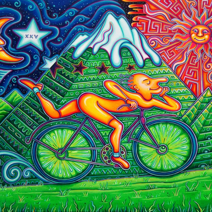 Bicycle Day Comforters