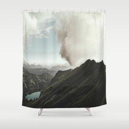 Far Views - Landscape Photography Shower Curtain
