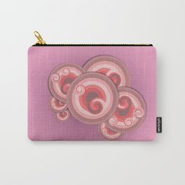 marble pastel pink for Spring season Carry-All Pouch