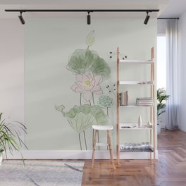 Pond of tranquility Wall Mural