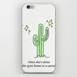 Harry Styles Cactus iPhone Skin
