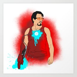 I am Iron Man. [with out saying] Art Print