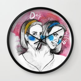 Bette & Dot Wall Clock