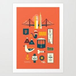 Sanfrancisco Art Print