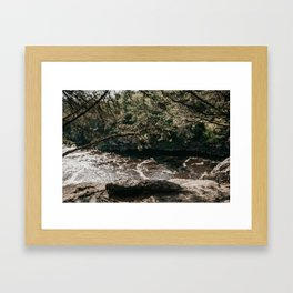 On the Bluffs   Nature and Landscape Photography Framed Art Print