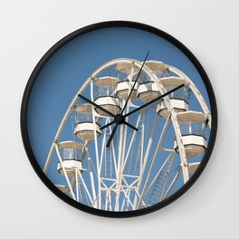 High In The Blue Sky 2 Wall Clock