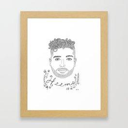Heems Framed Art Print