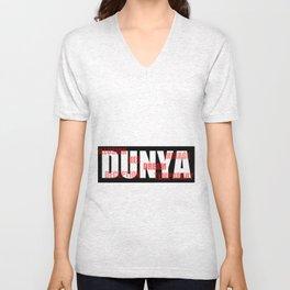 DUNYA Unisex V-Neck