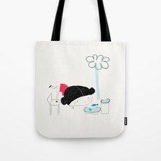 What the rain brings Tote Bag