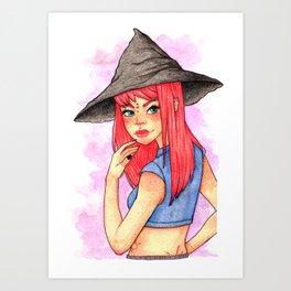 Cherie Art Print