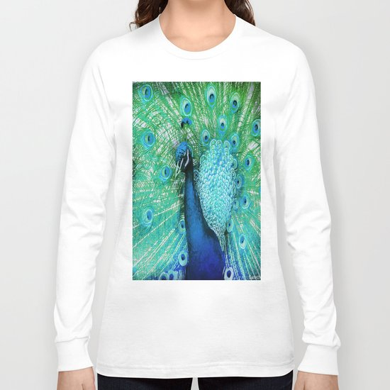Peacock 2 Long Sleeve T-shirt