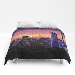 Dystopian Gamer Comforters