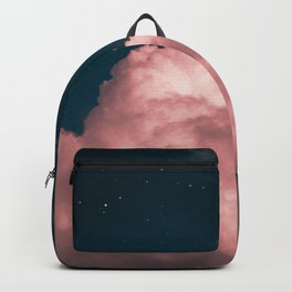 Pink night clouds Backpack