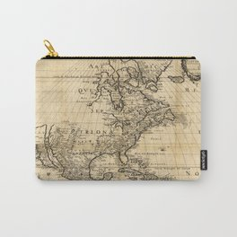 Amerique Septentrionale, Map of North America (1650) Carry-All Pouch