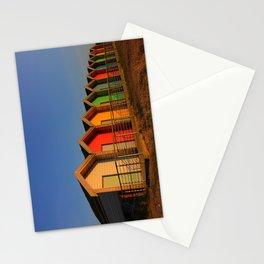 Blyth Beach Huts Stationery Cards
