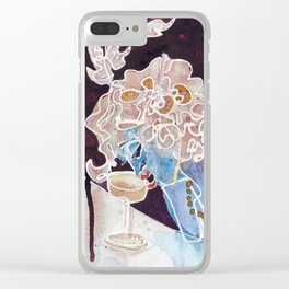 CHAMPAGNE FEMME Clear iPhone Case