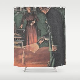 Bump In The Road Shower Curtain