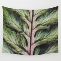 fern Wall Tapestries featuring fern by Bonnie Jakobsen-Martin