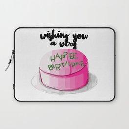 Happee birthdae harry cake movie Laptop Sleeve