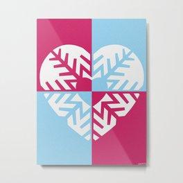 LOVEFLAKE Metal Print