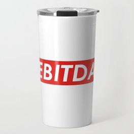 EBITDA Finance design Gift Travel Mug