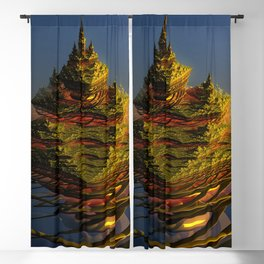 The journey is the destination Blackout Curtain