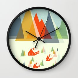 The Foothills Wall Clock