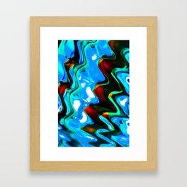Contrasting Colors Framed Art Print