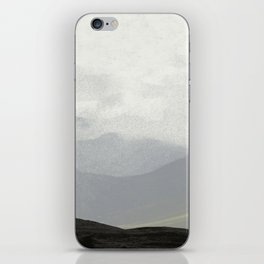 Rannoch Moor - mists and mountains iPhone Skin