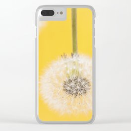Whishes on yellow Clear iPhone Case