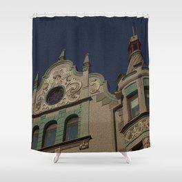Architecture Of Tallinn Shower Curtain