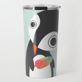 Pingu Loves Icecream Travel Mug