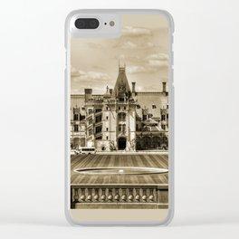 Biltmore Mansion Estate Clear iPhone Case